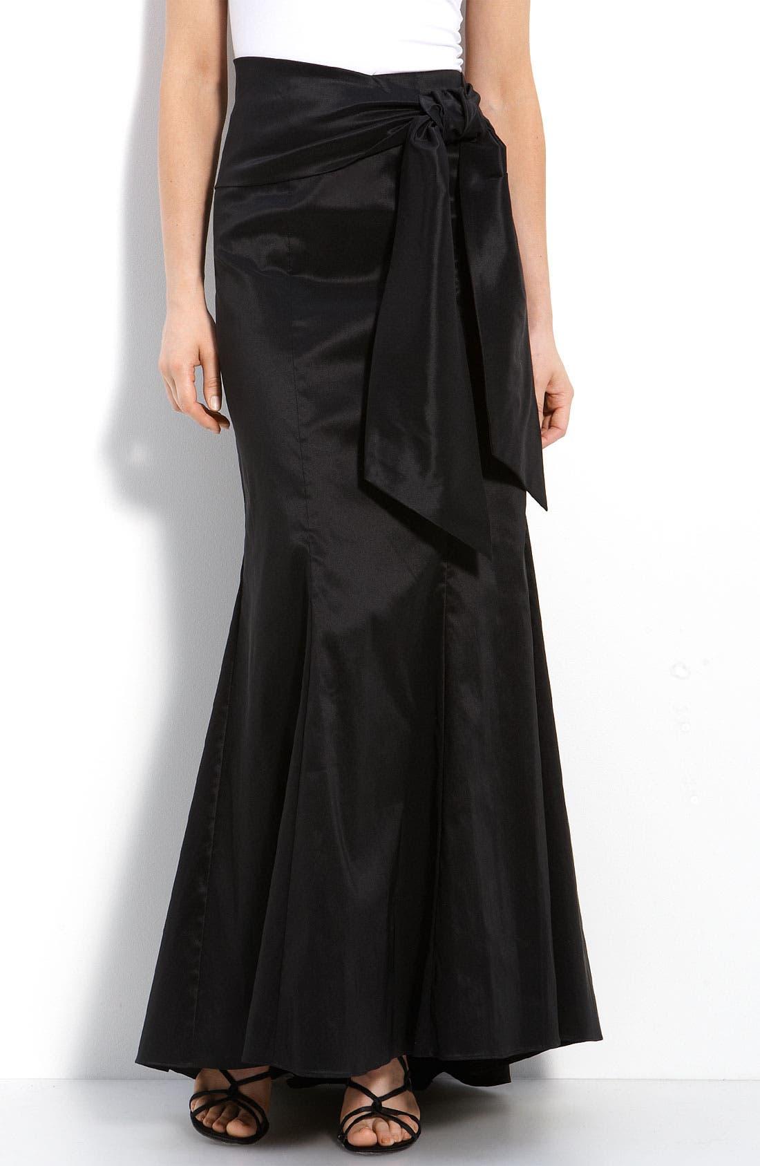 Alternate Image 1 Selected - Adrianna Papell Taffeta Skirt