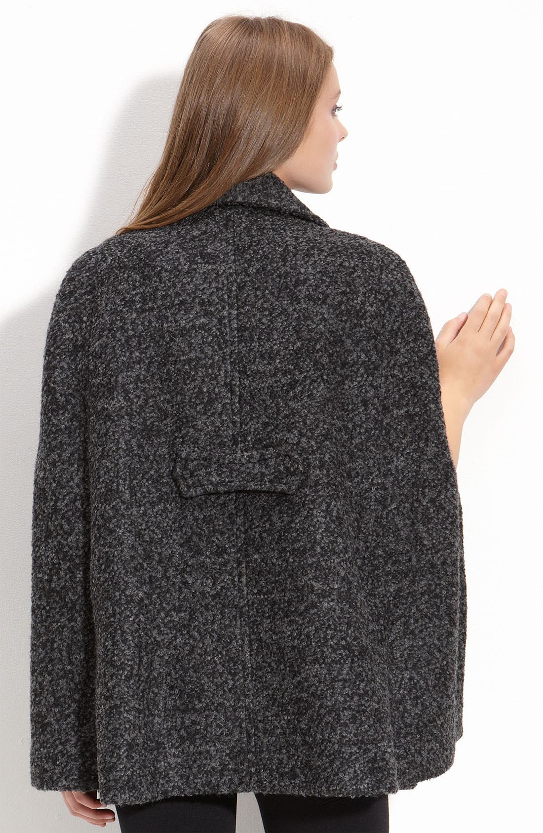 Alternate Image 2  - Laundry by Shelli Segal Double Breasted Cape (Nordstrom Exclusive)