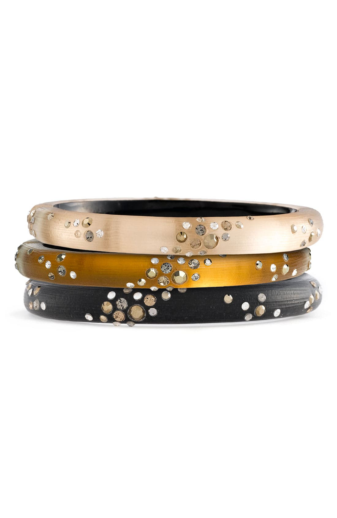 Alternate Image 1 Selected - Alexis Bittar 'Sepia Dust' Small Hinged Bracelet (Nordstrom Exclusive)