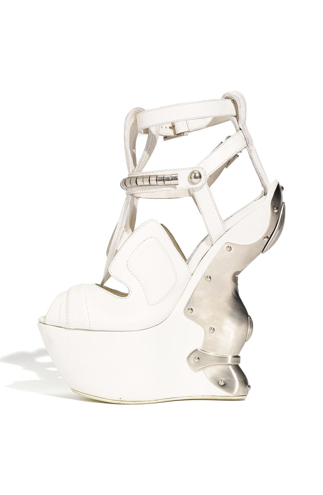 Alternate Image 2  - Alexander McQueen Metal Wedge Sandal