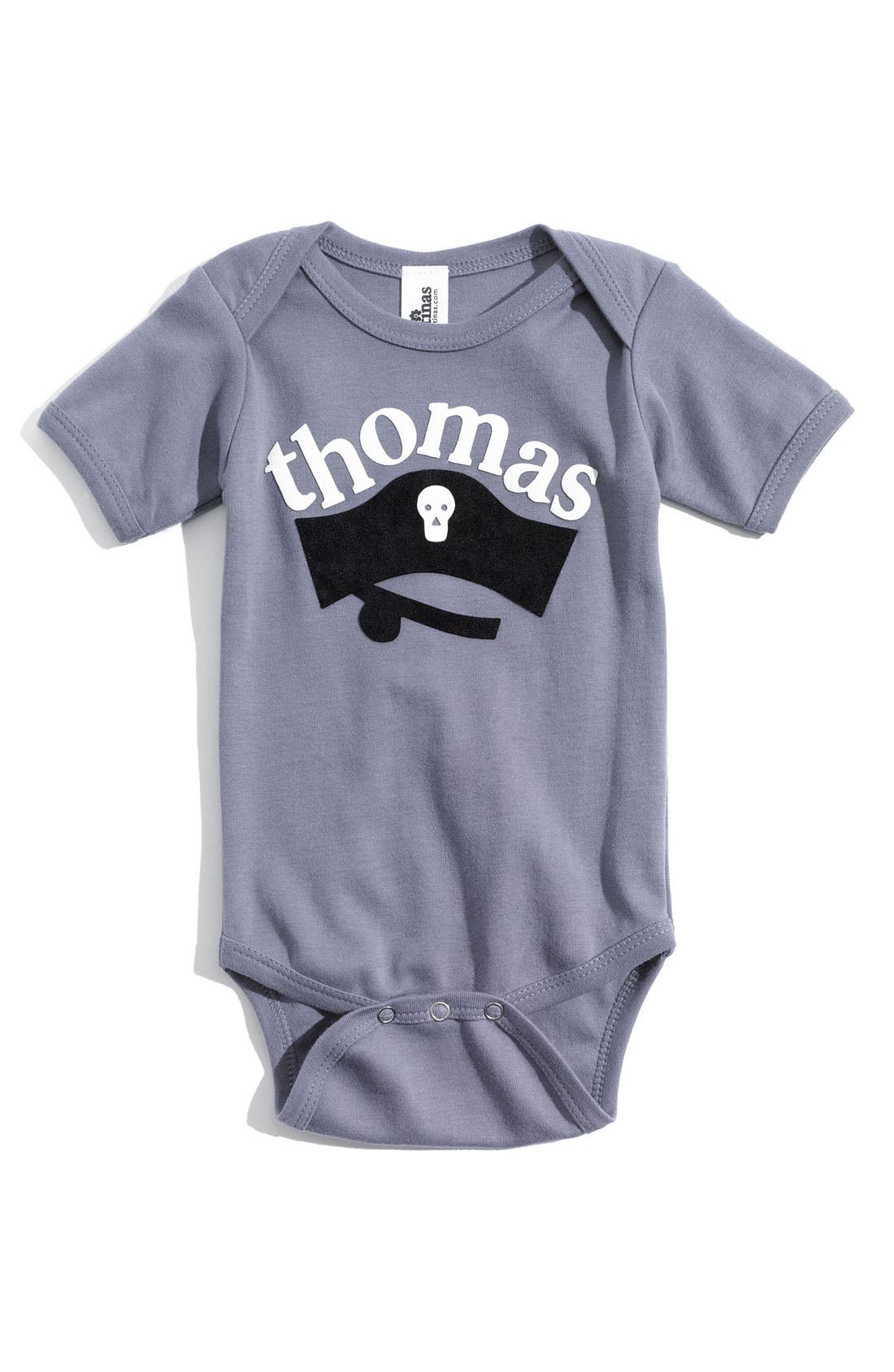 Alternate Image 1 Selected - Two Tinas Personalized Bodysuit (Baby)