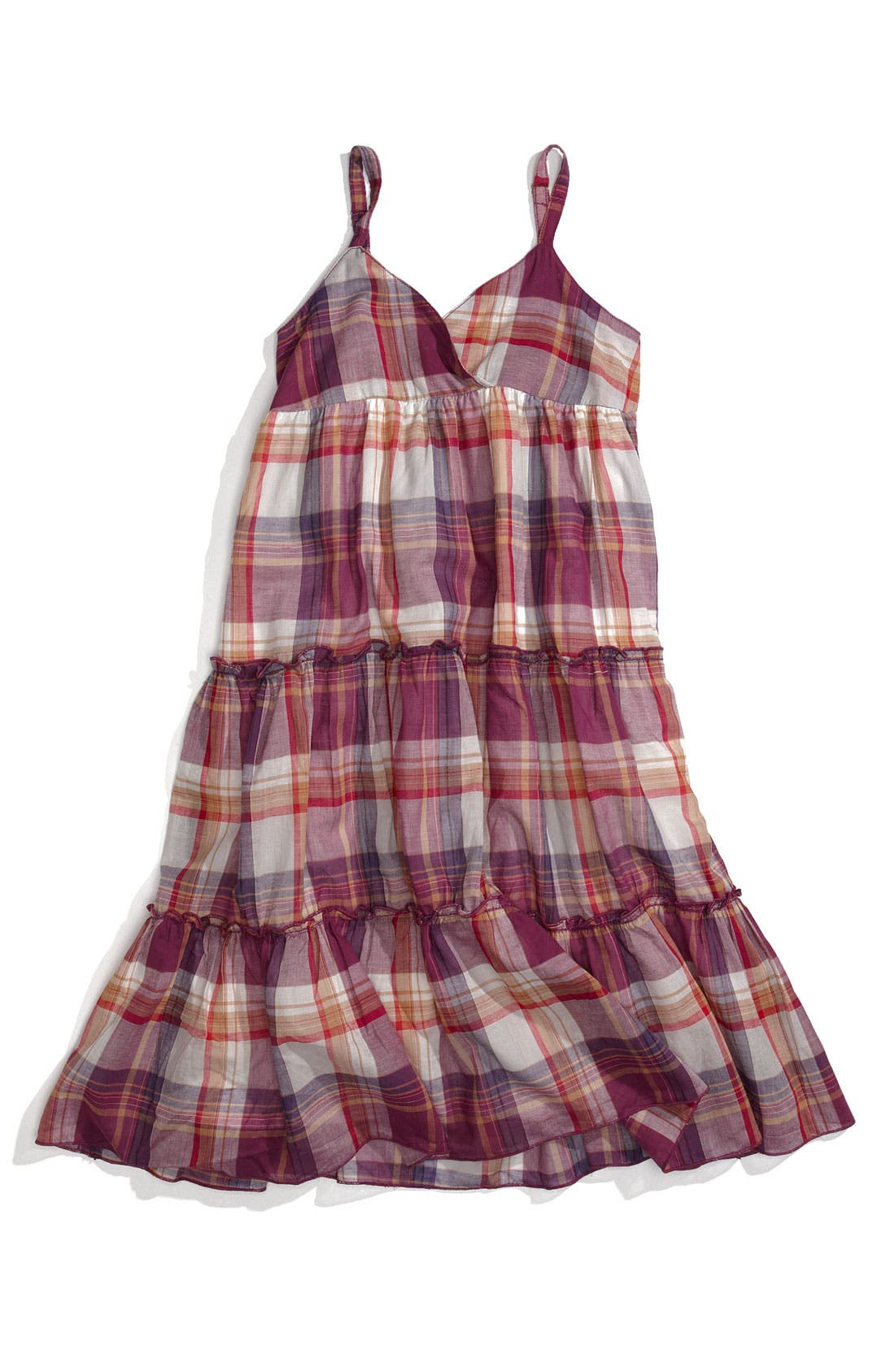 Main Image - Peek Plaid Sundress (Toddler, Little Girl & Big Girl)