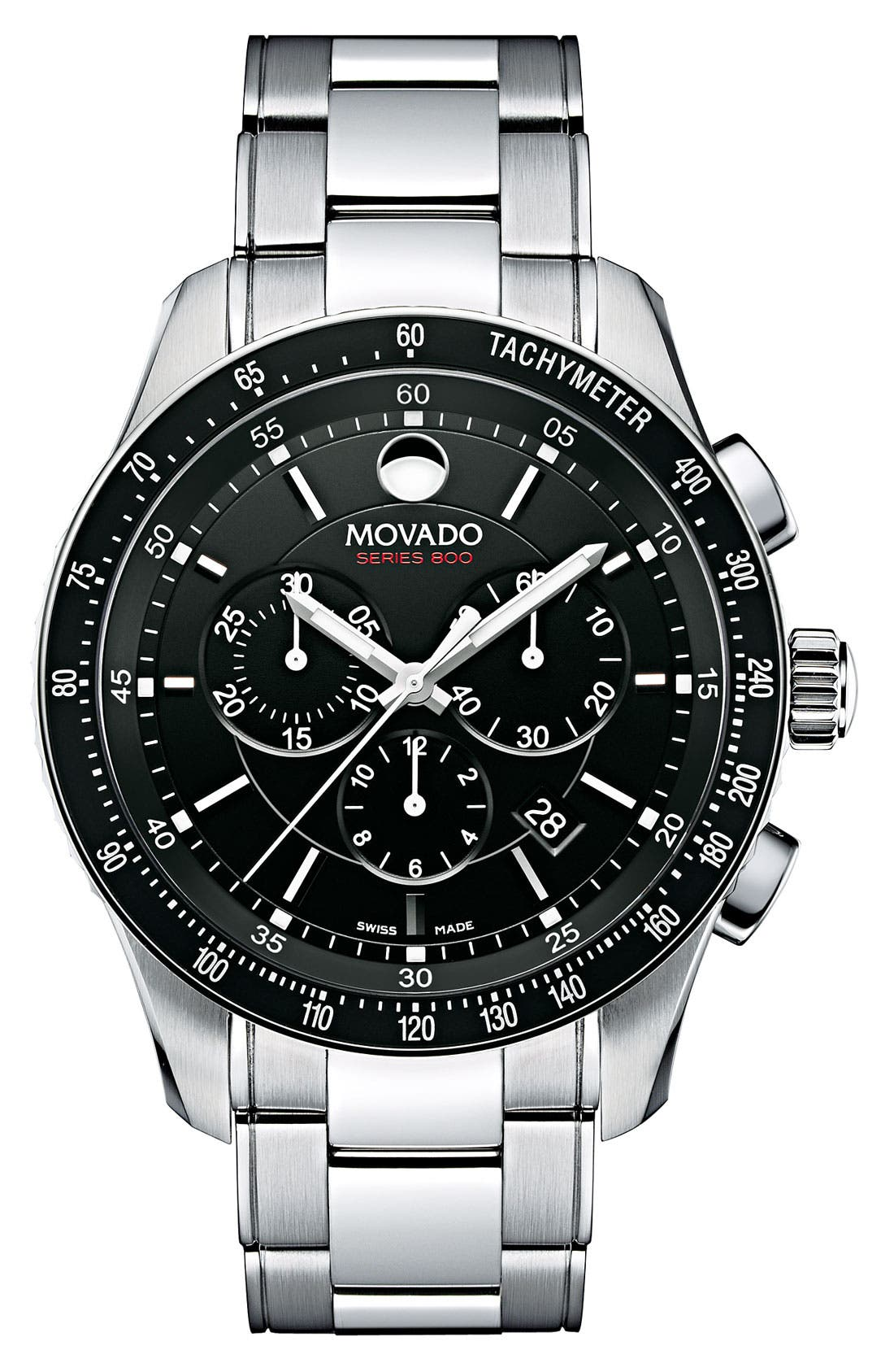 Alternate Image 1 Selected - Movado 'Series 800' Chronograph Bracelet Watch, 42mm