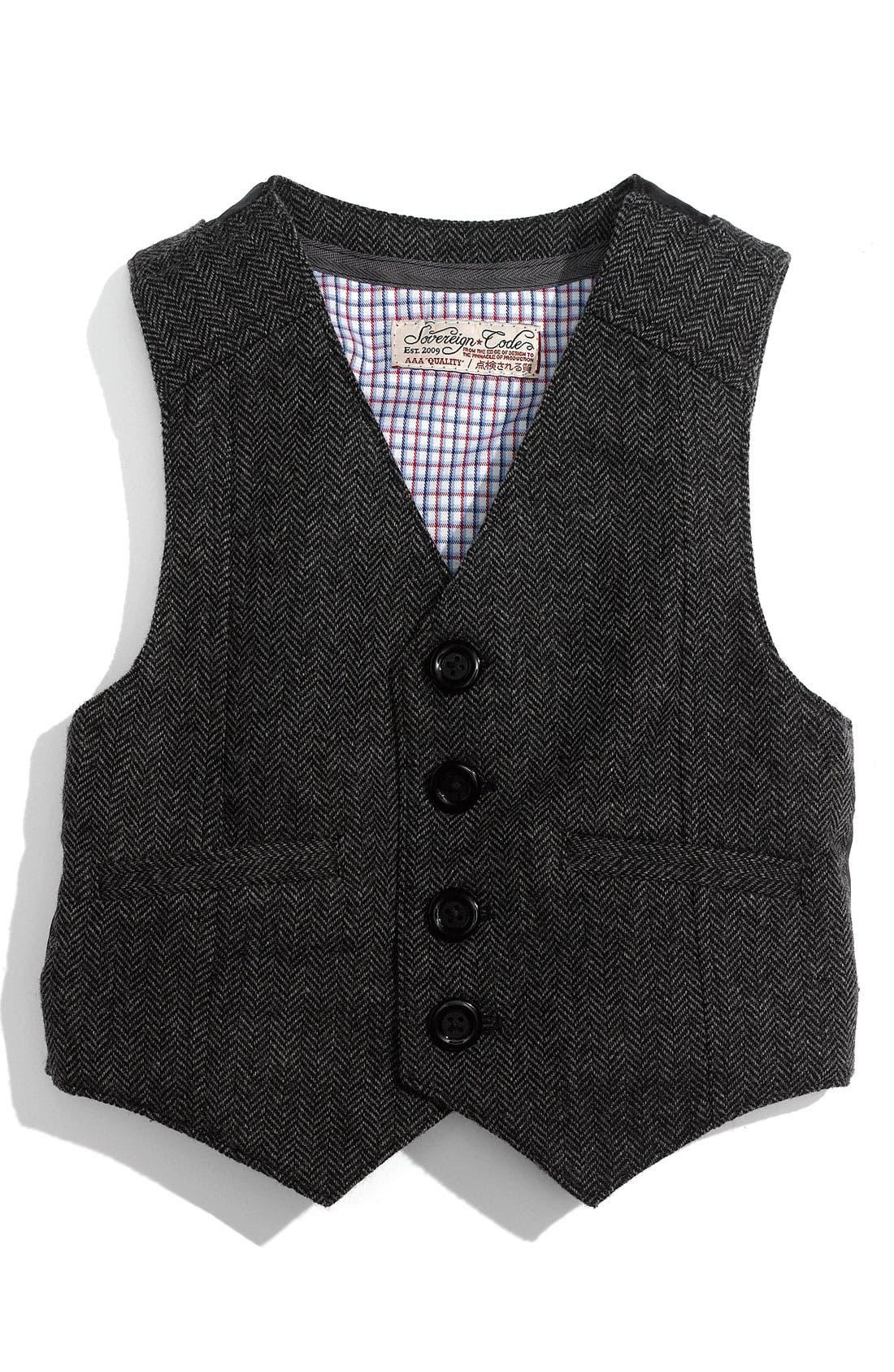 Alternate Image 1 Selected - Sovereign Code 'Lucas' Vest (Infant)