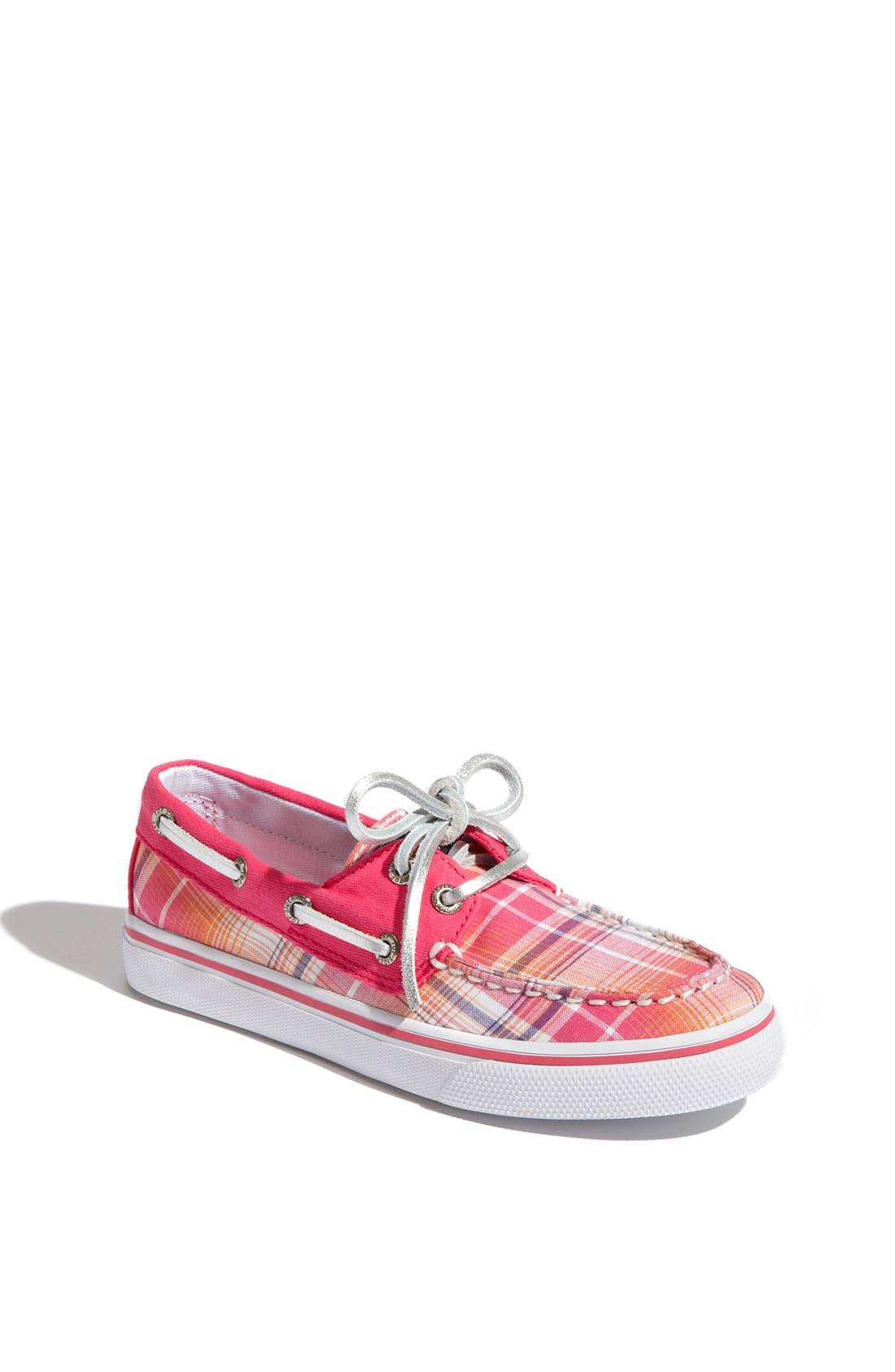 Alternate Image 1 Selected - Sperry Top-Sider® 'Bahama' Boat Shoe (Little Kid & Big Kid)
