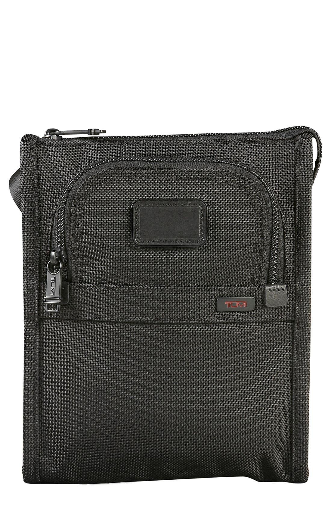 Main Image - Tumi 'Small Alpha' Crossbody Pocket Bag
