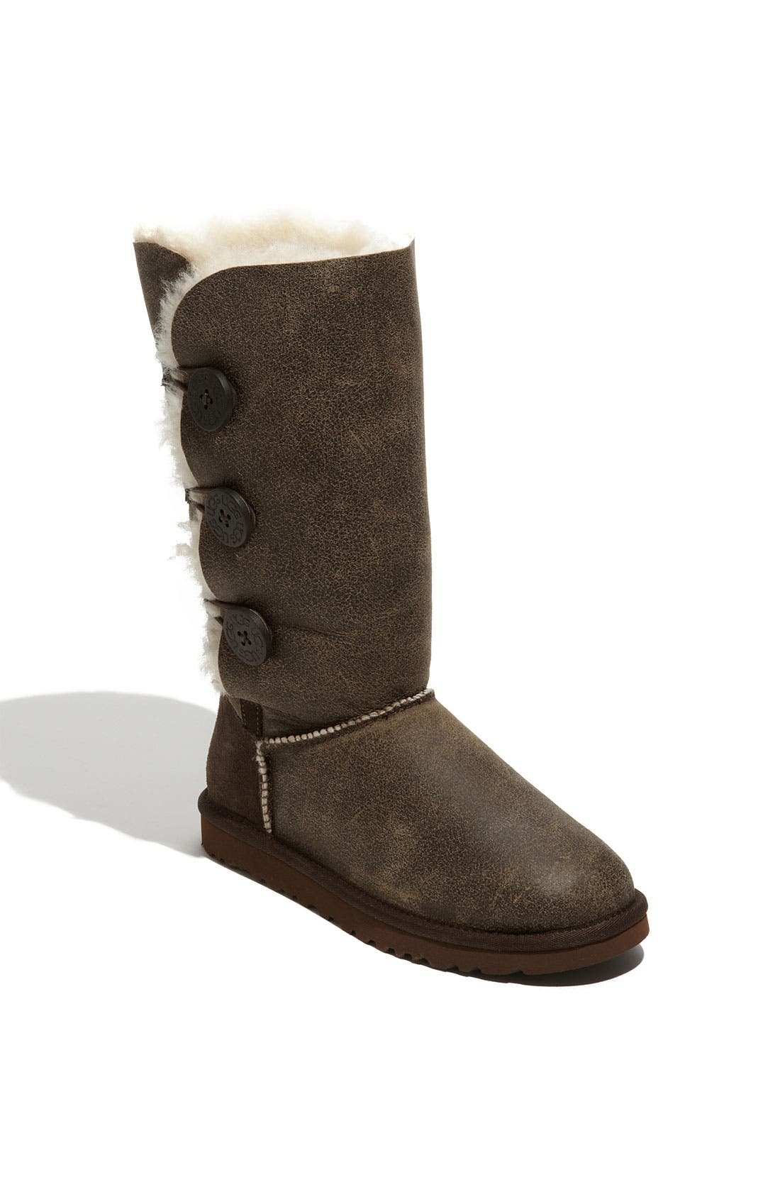 Alternate Image 1 Selected - UGG® Australia 'Bailey Button Triplet' Boot (Bomber) (Women)