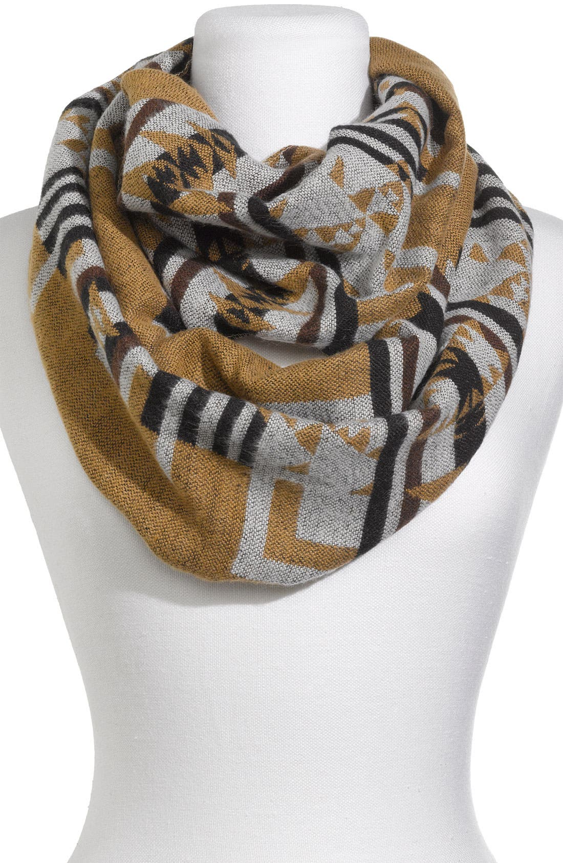 Alternate Image 1 Selected - The Accessory Collective 'Saddle Blanket' Infinity Scarf