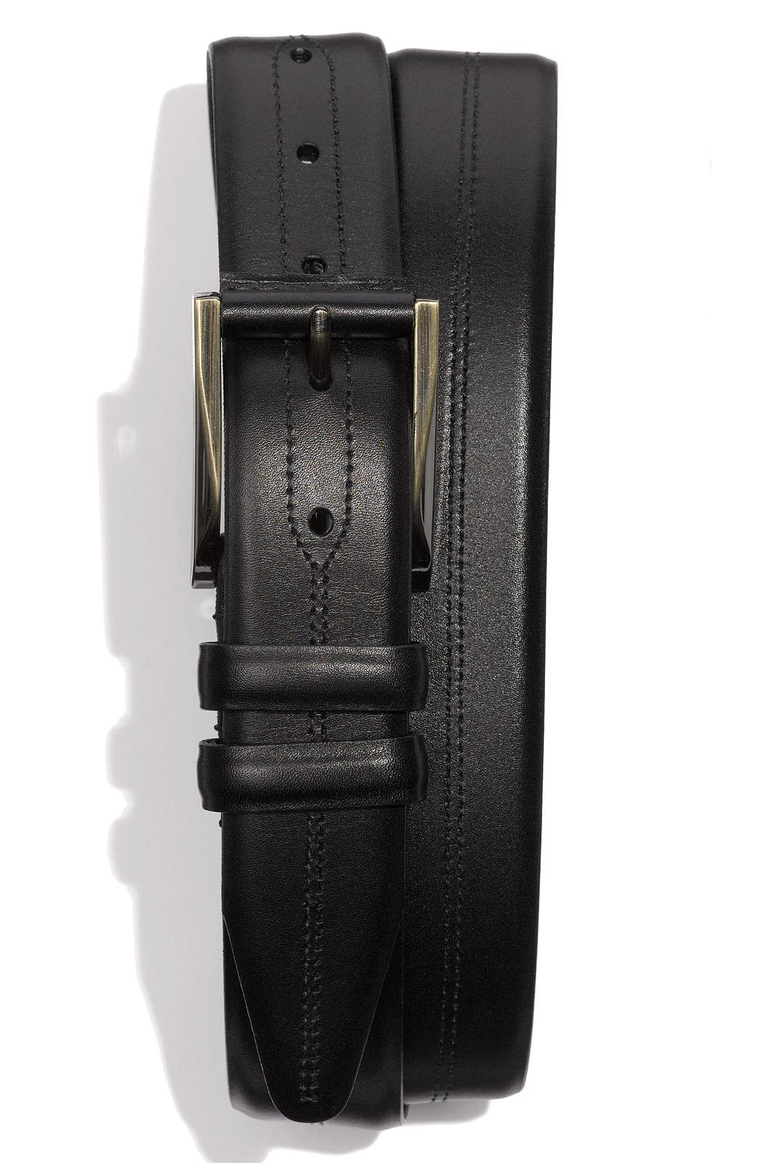Alternate Image 1 Selected - Bruno Magli 'Raging' Calfskin Belt