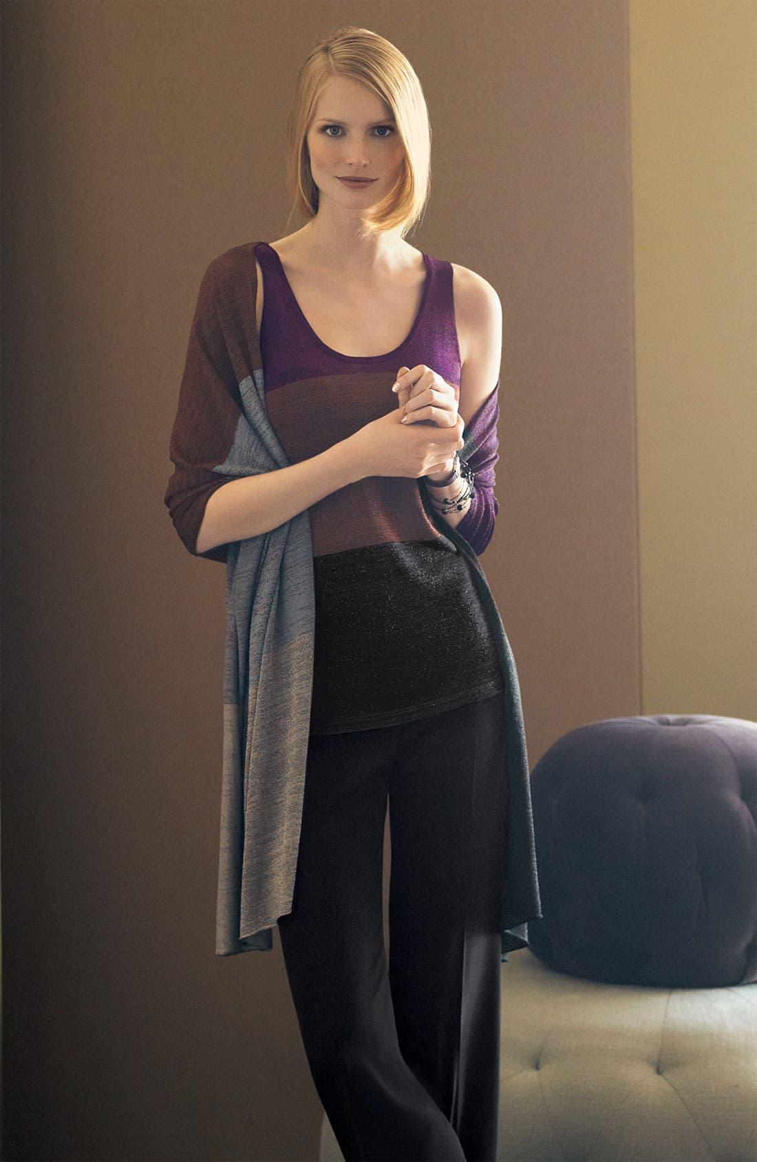 Alternate Image 2  - White + Warren Colorblock Knit Tank