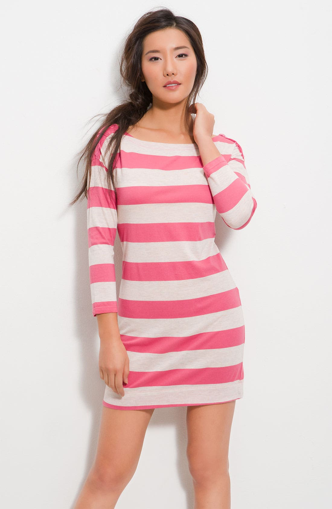 Alternate Image 1 Selected - Splendid Nautical Stripe Dress