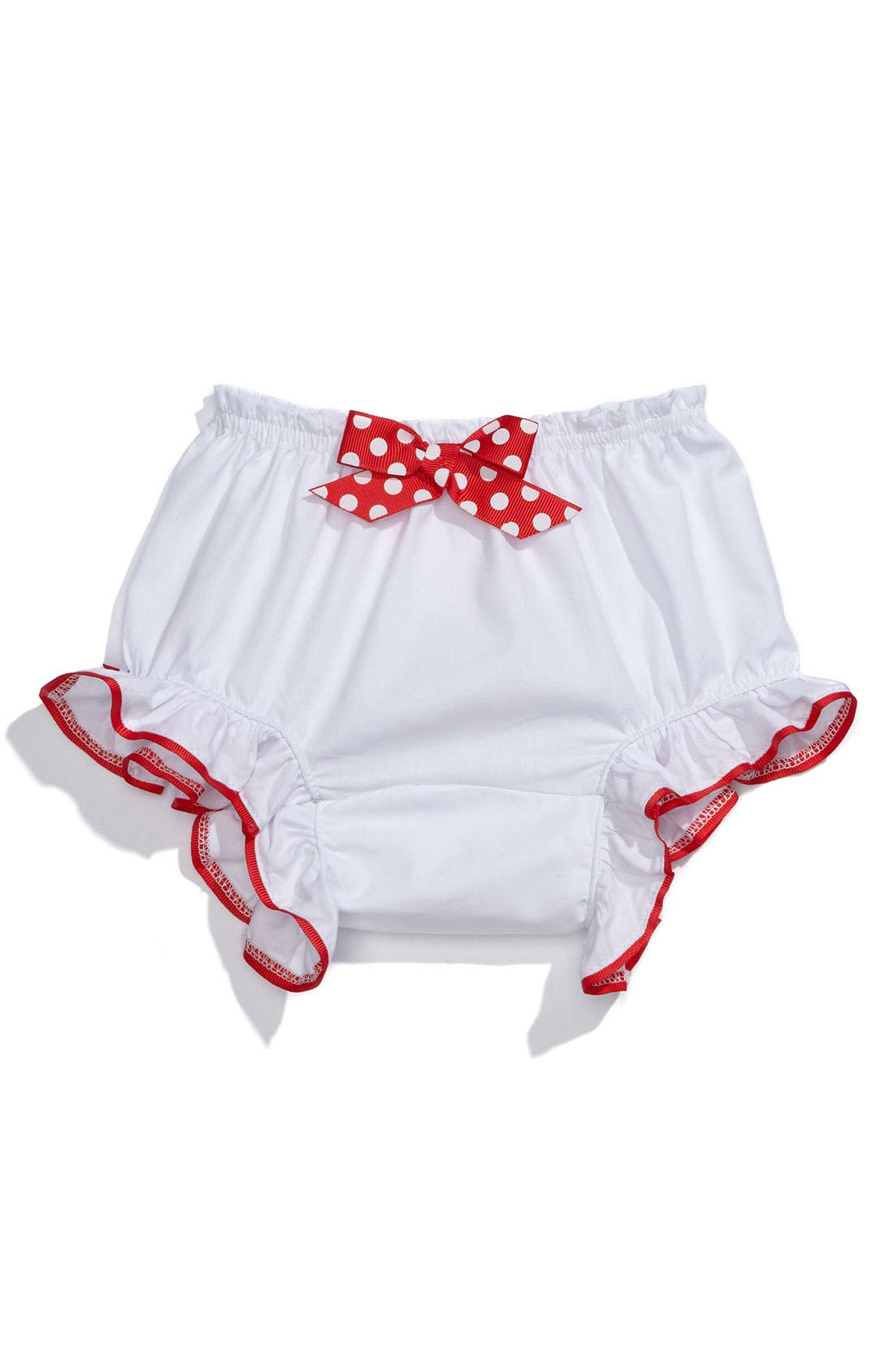 Alternate Image 2  - Mud Pie 'I Love Santa' Bloomers (Infant)