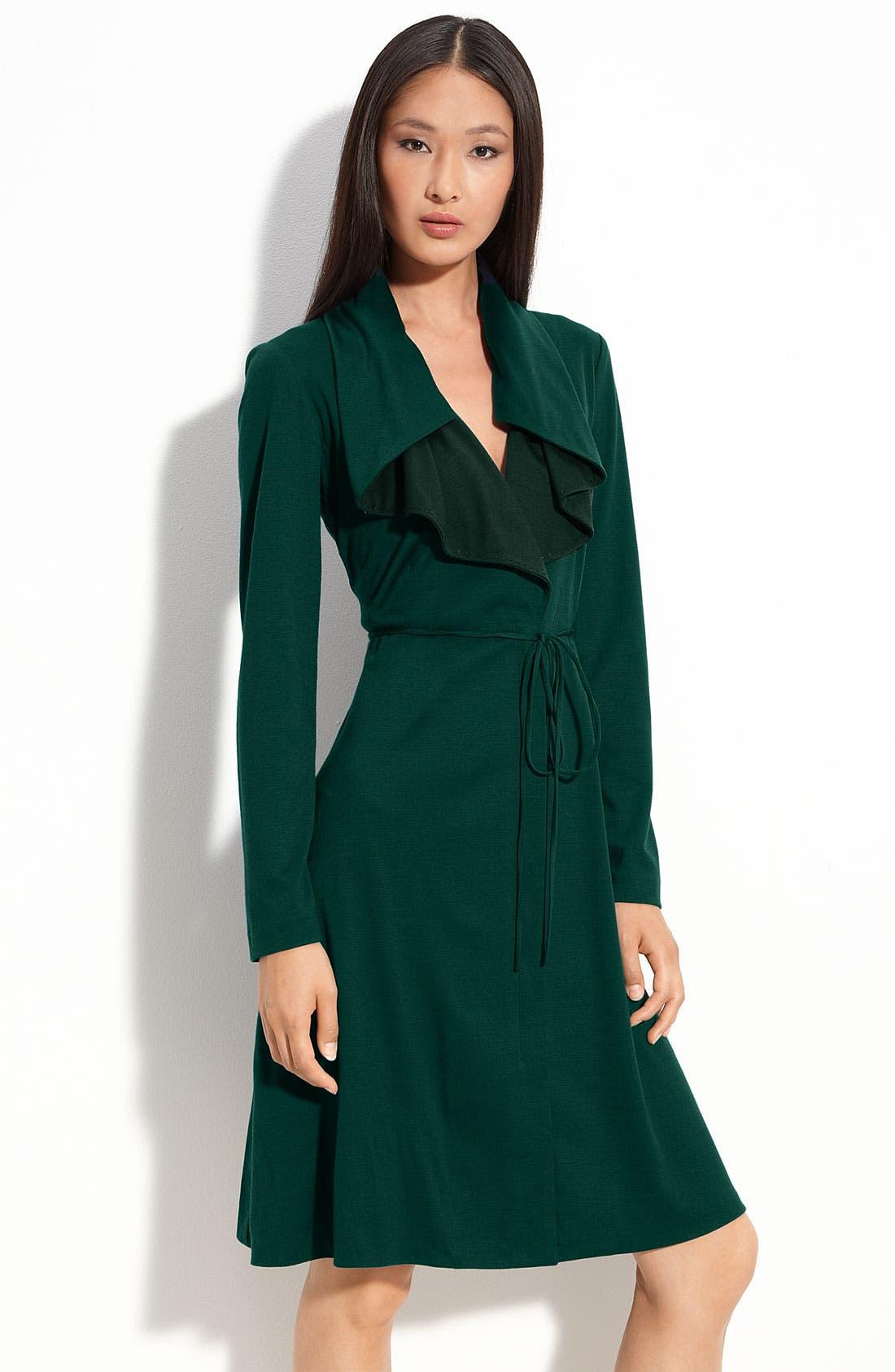 Alternate Image 1 Selected - Elie Tahari 'Lauren' Long Sleeve Dress