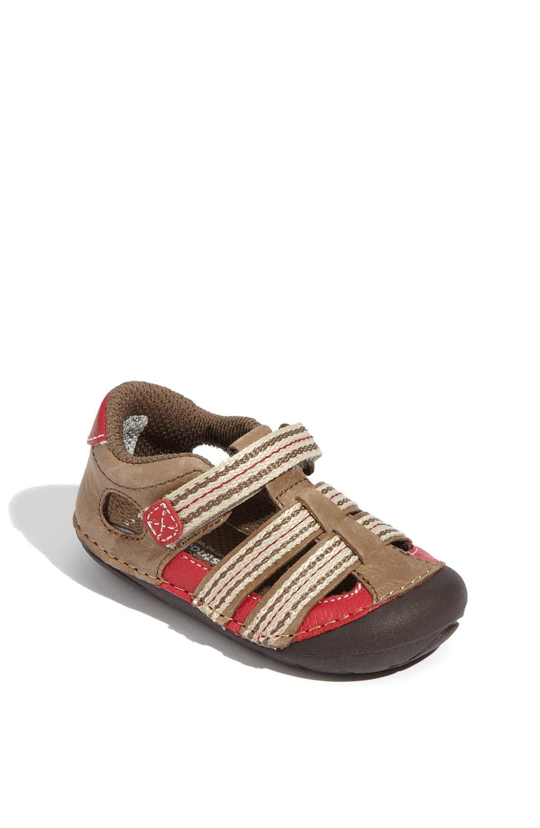 Alternate Image 1 Selected - Stride Rite 'Calf' Sandal (Baby & Walker)
