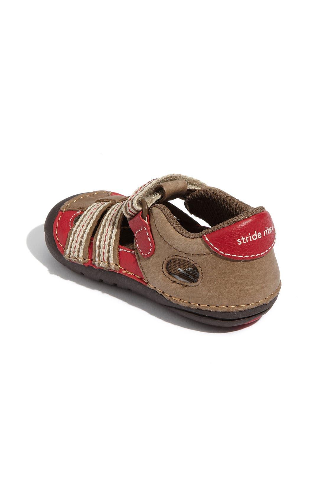 Alternate Image 2  - Stride Rite 'Calf' Sandal (Baby & Walker)