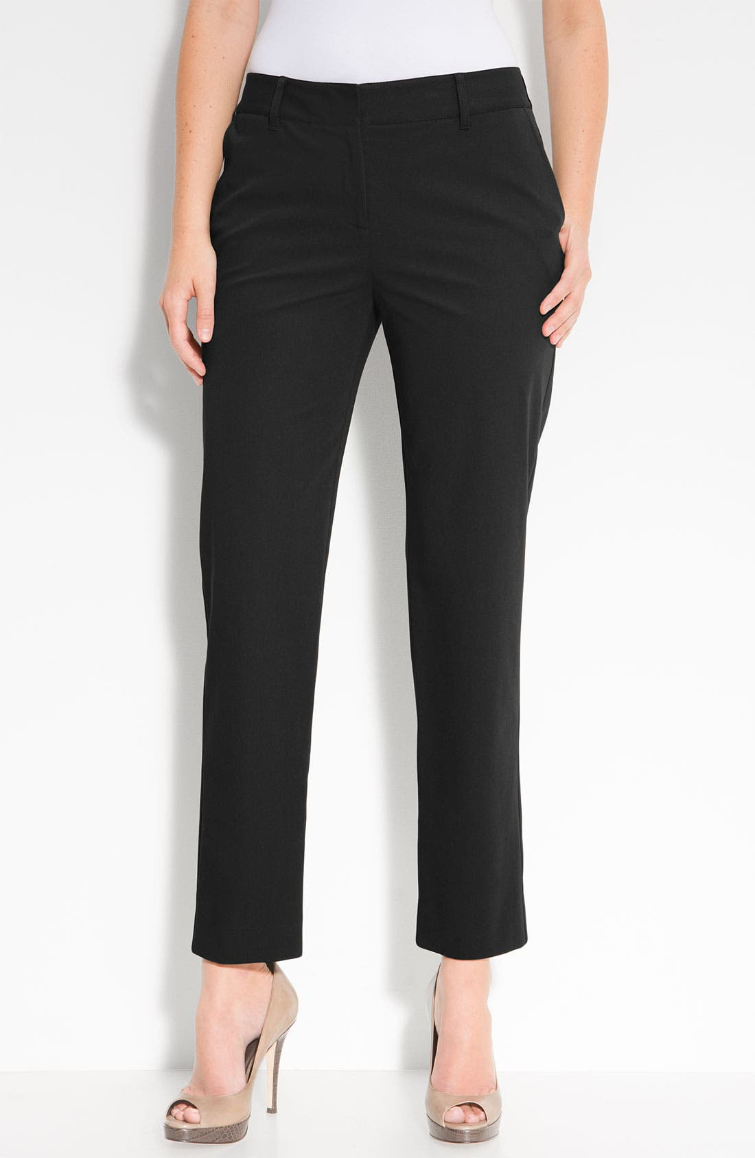 Alternate Image 1 Selected - Lafayette 148 New York Twill Pants