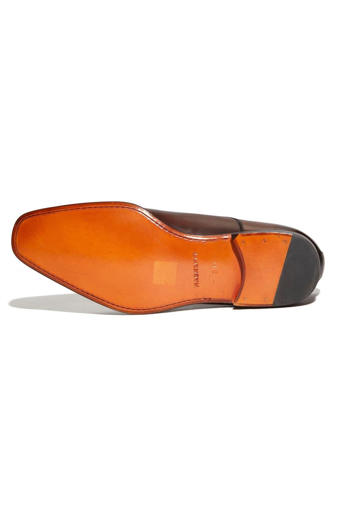 Alternate Image 4  - Magnanni 'Colo' Plain Toe Derby (Men)