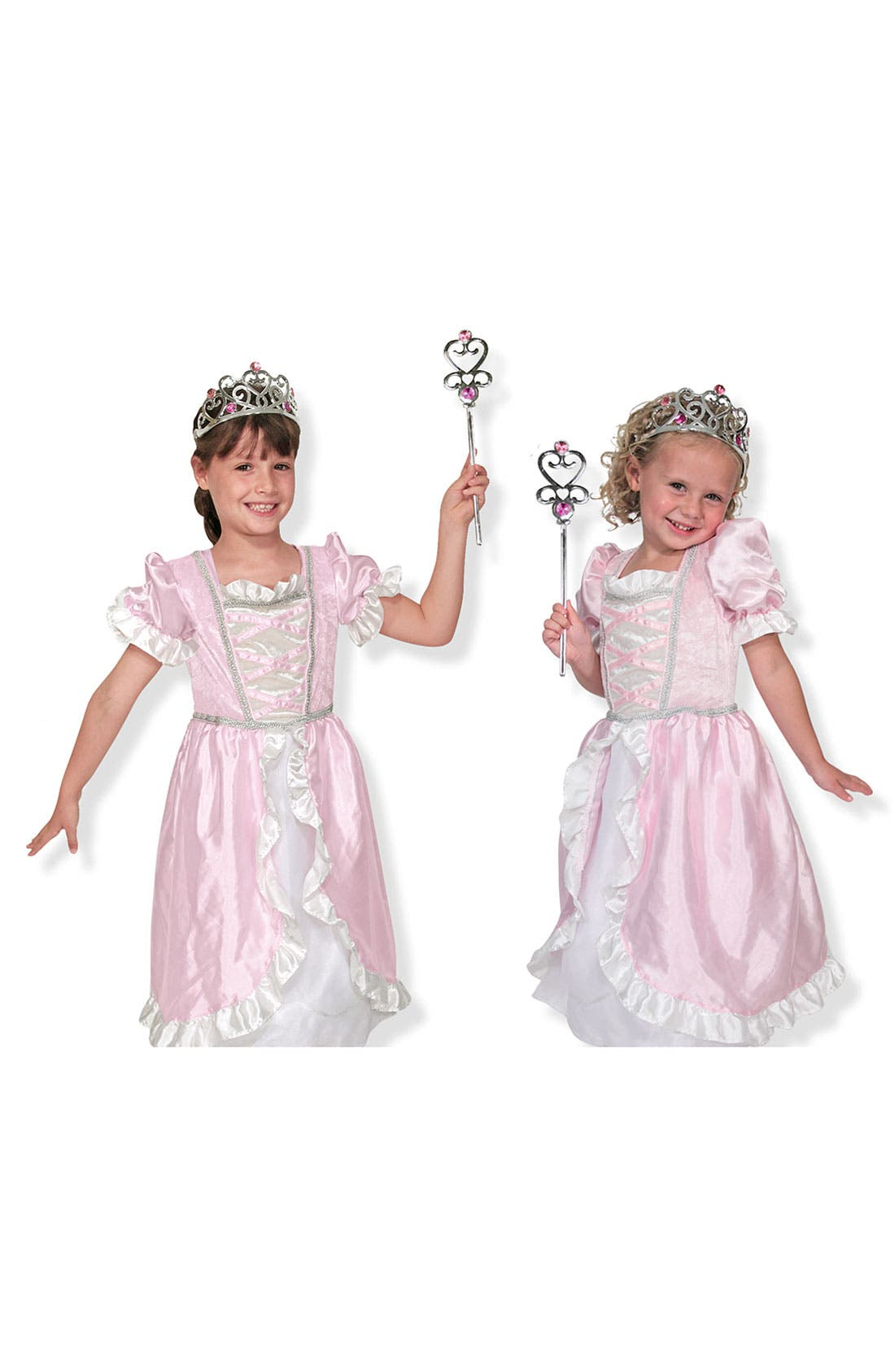 Main Image - Melissa & Doug Princess Costume (Little Girls)