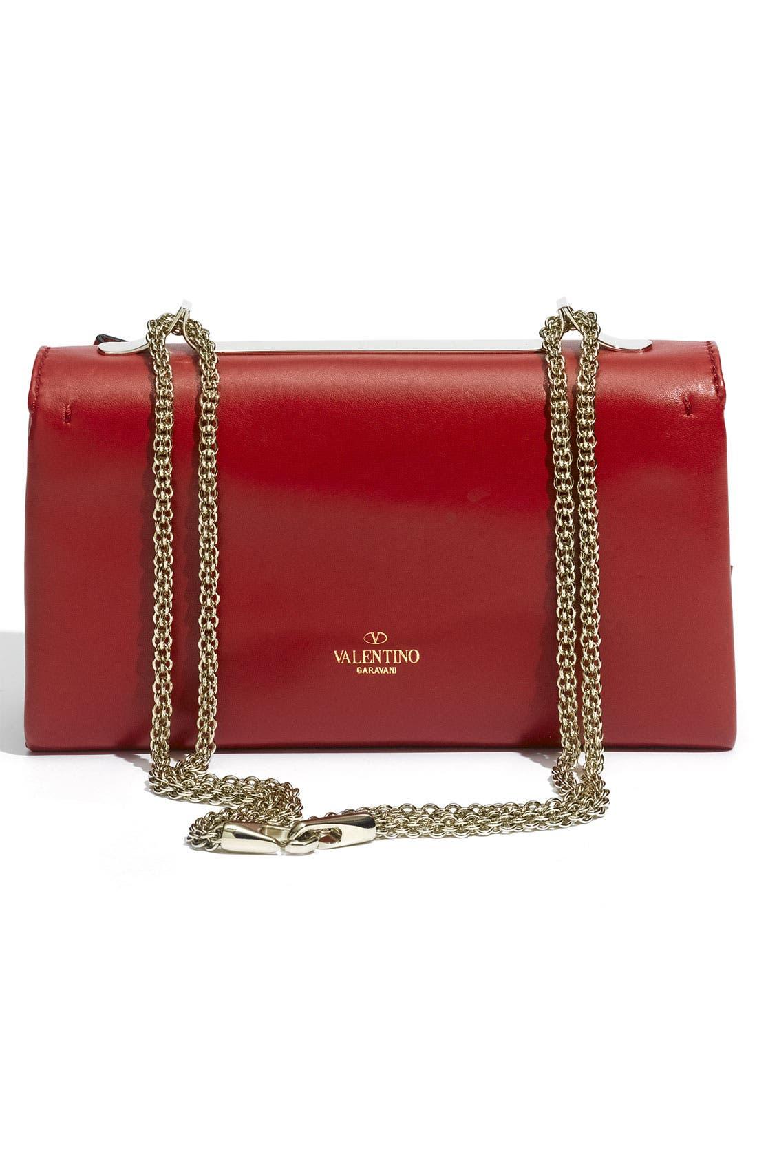 Alternate Image 4  - Valentino 'Bow Flap' Leather Shoulder Bag