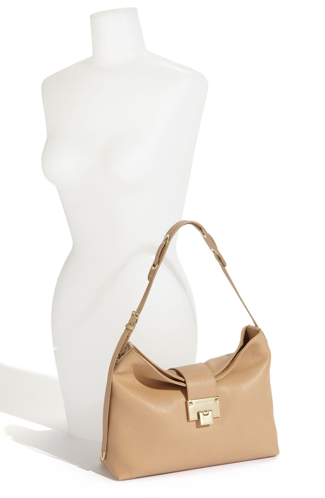 Alternate Image 2  - Jimmy Choo 'Small Rachel' Grainy Calfskin Leather Shoulder Bag