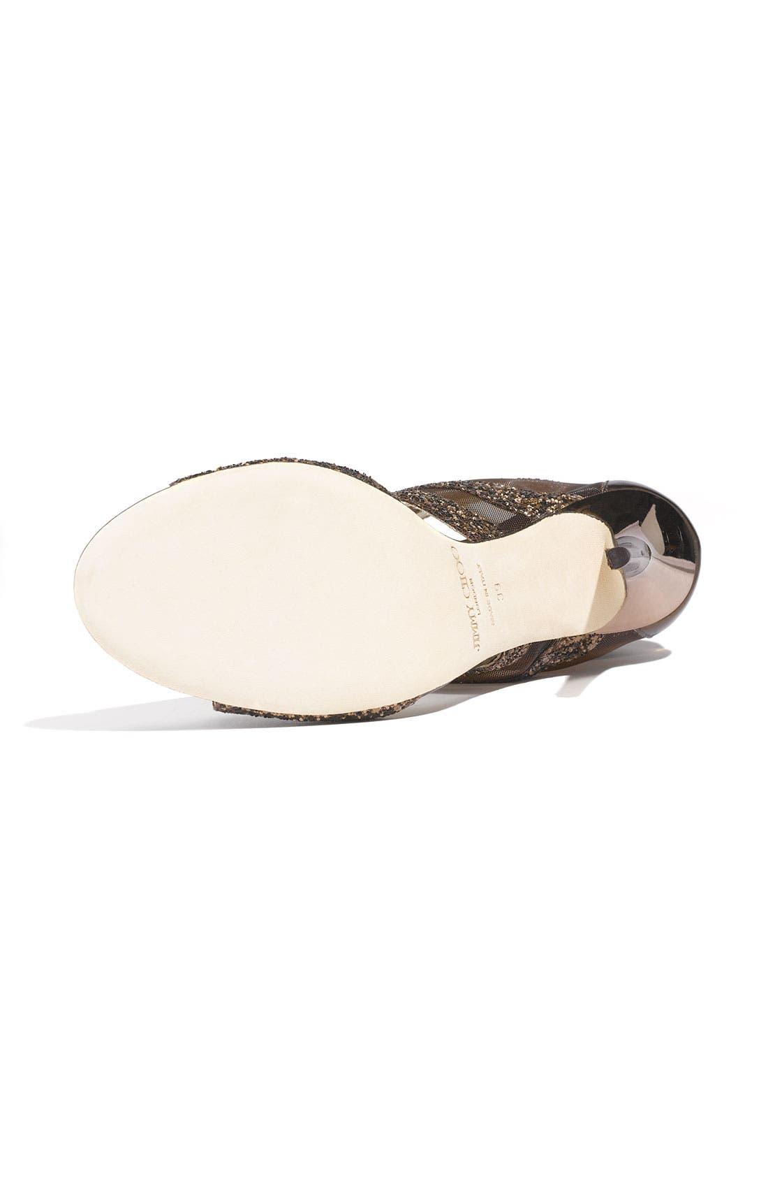 Alternate Image 4  - Jimmy Choo 'Leila' Mesh Sandal