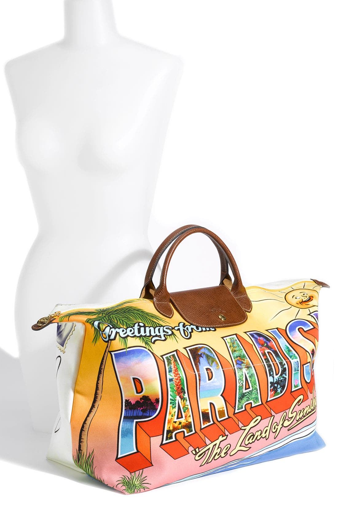 Alternate Image 2  - Longchamp 'Jeremy Scott Paradise' Duffel