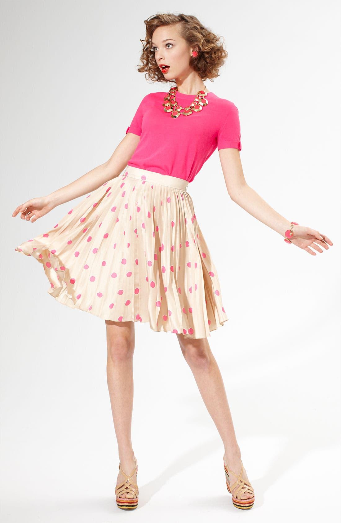 Alternate Image 1 Selected - kate spade new york sweater & skirt