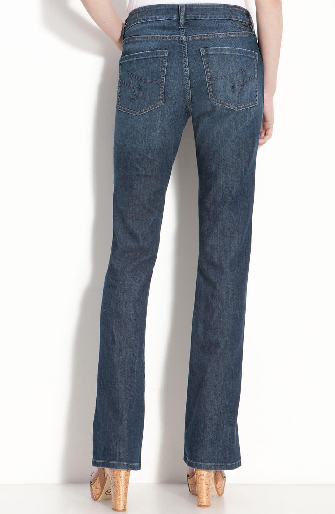 Alternate Image 2  - Jag Jeans 'Trudie' Slim Flare Leg Jeans (Petite) (Online Exclusive)