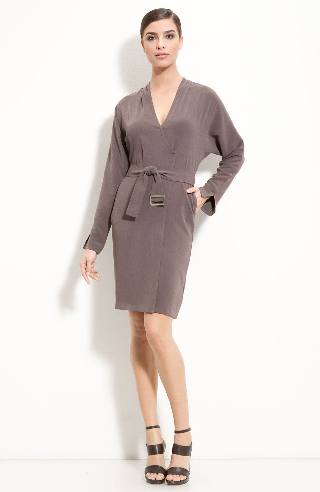 Alternate Image 1 Selected - St. John Collection Batwing Sleeve Dress