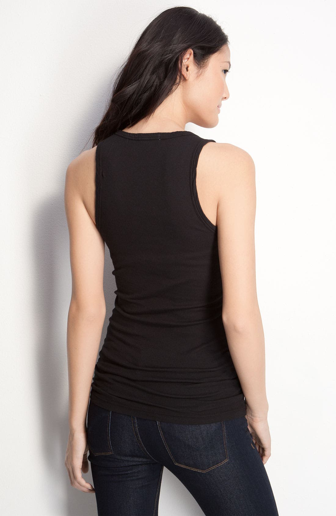 Alternate Image 2  - James Perse Fitted V-Neck Tank