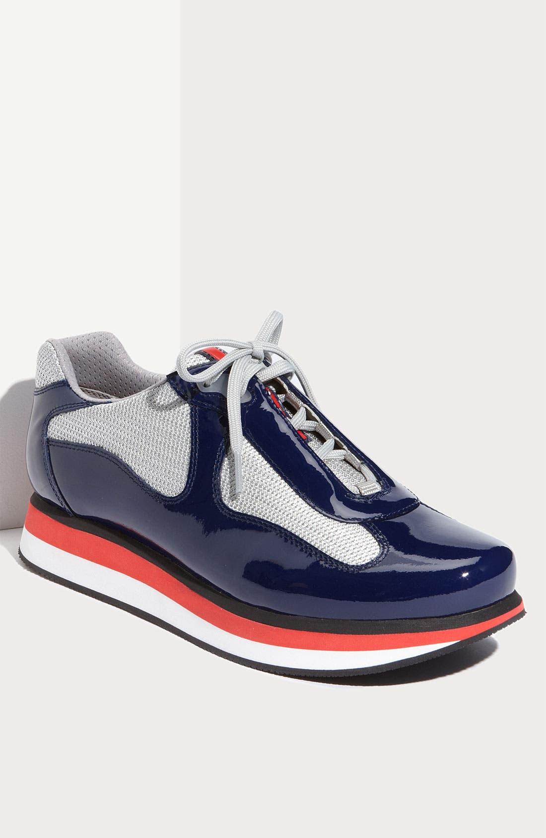Alternate Image 1 Selected - Prada 'Punta Ala' Double Sole Sneaker