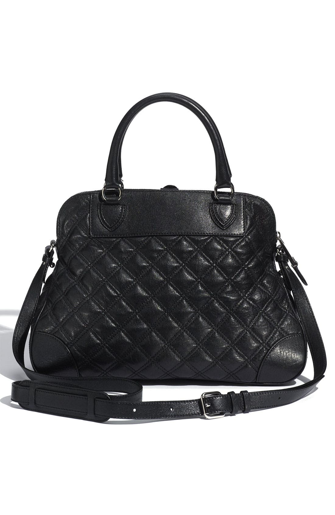 Alternate Image 4  - MARC JACOBS 'Quilting Whitney' Lambskin Leather Satchel