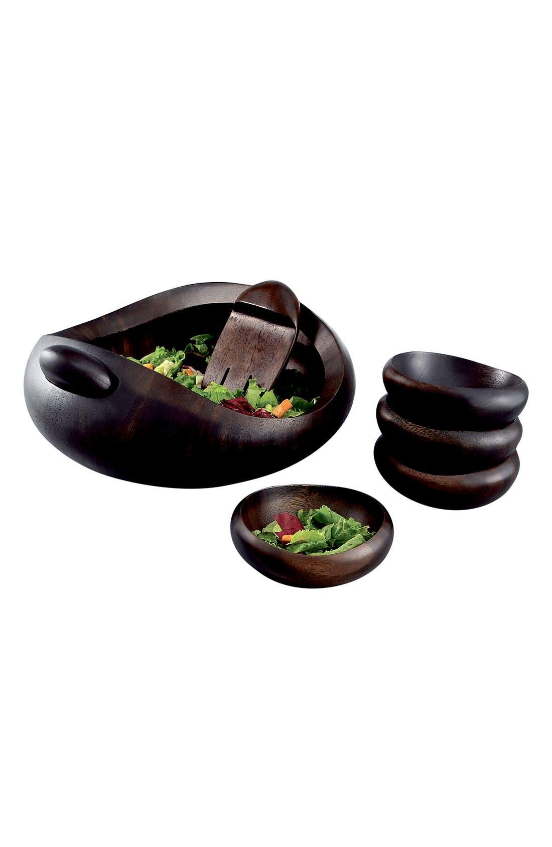 Alternate Image 2  - Nambé 'Heritage Pebble' Salad Set