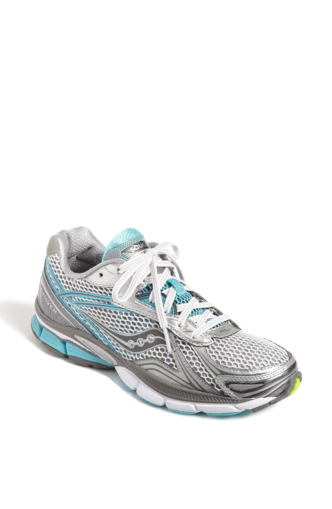 Main Image - Saucony 'PowerGrid Hurricane 14' Running Shoe (Women)