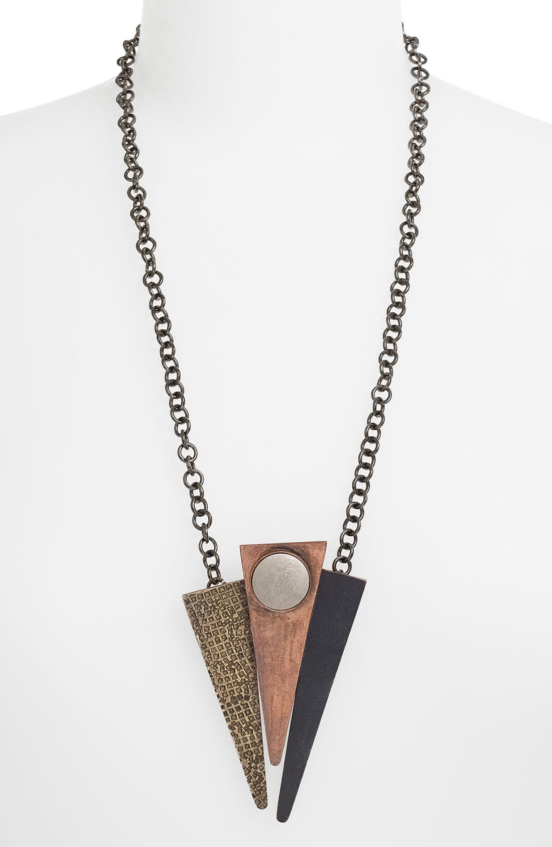 Alternate Image 1 Selected - Kelly Wearstler Abstract Patina Pendant Necklace