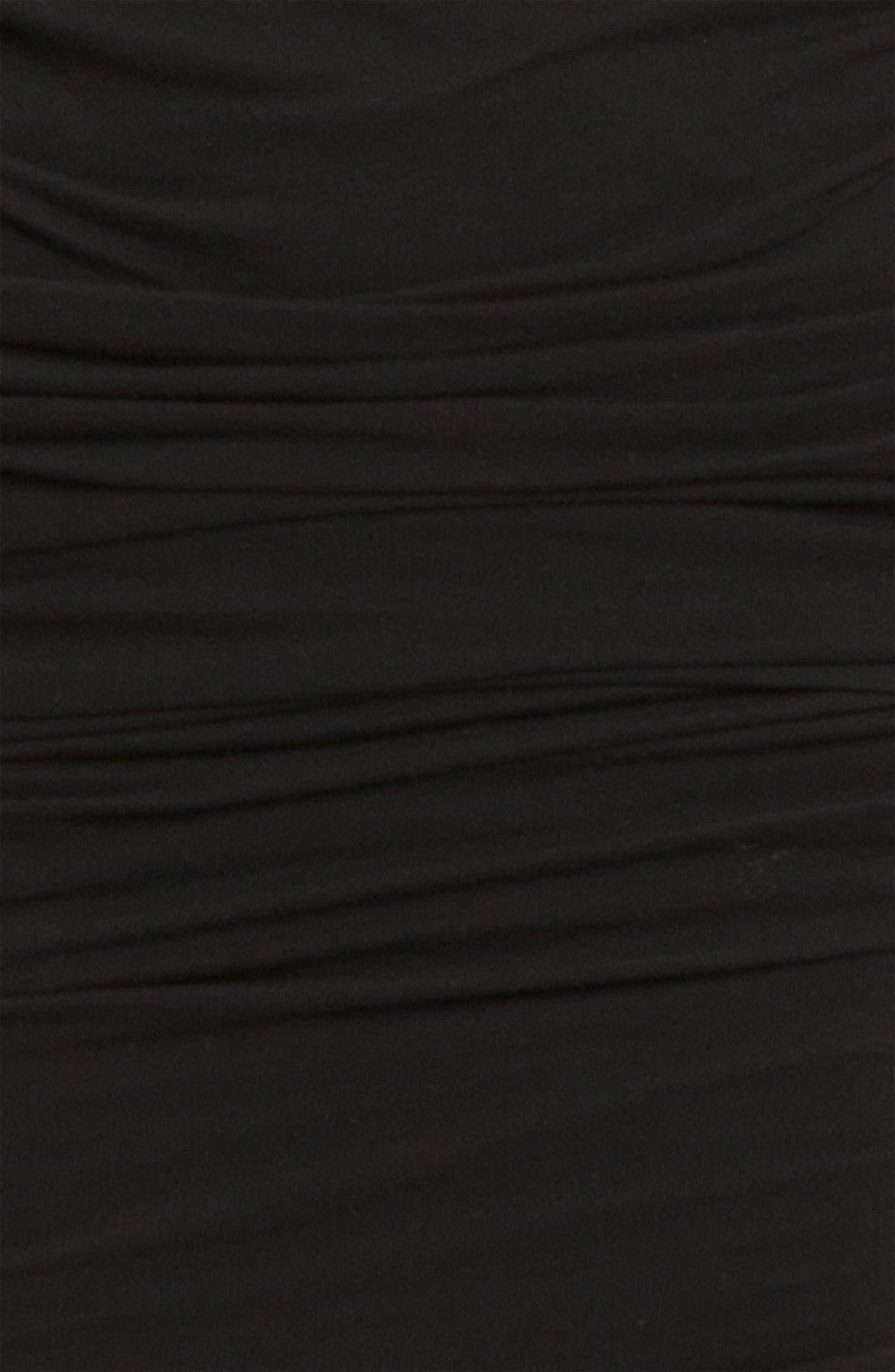 Alternate Image 3  - James Perse Ruched V-Neck Dress