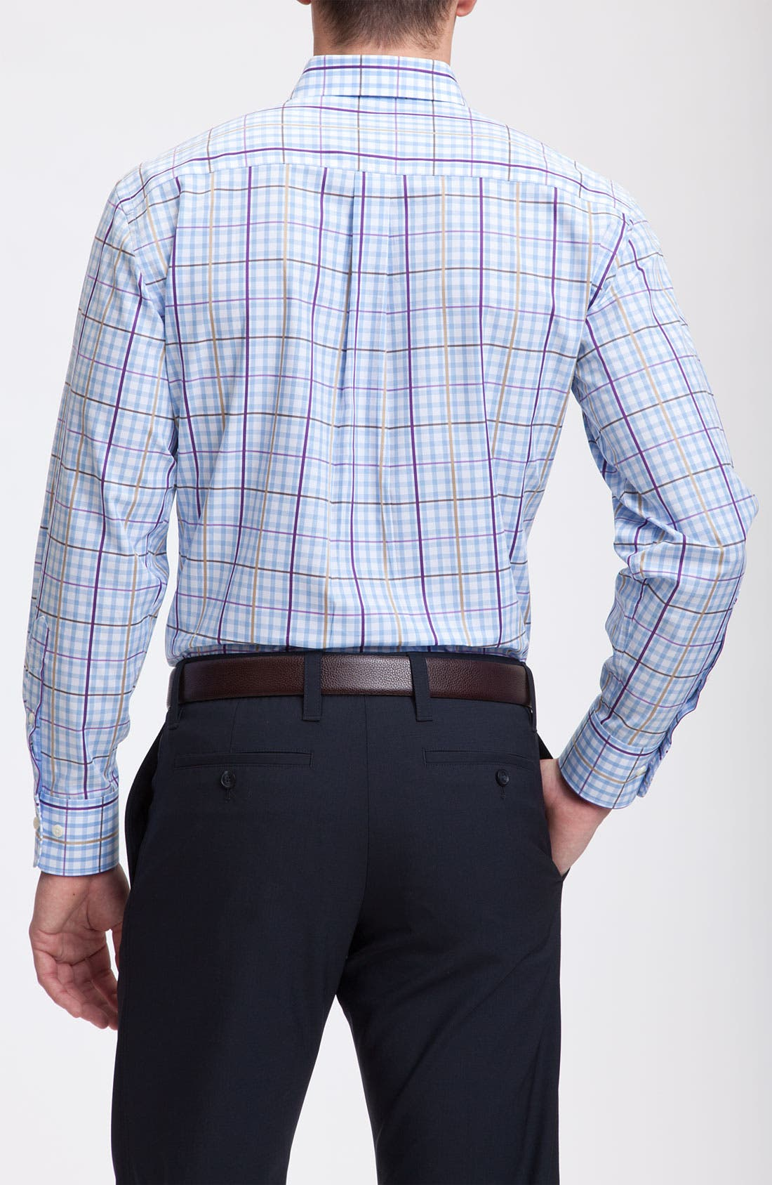 Alternate Image 2  - Peter Millar Check Sport Shirt