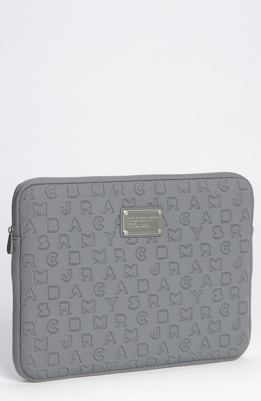 Main Image - MARC BY MARC JACOBS 'Dreamy Logo' Laptop Sleeve (13 Inch)