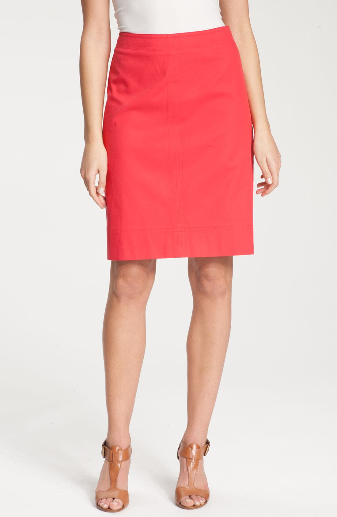 Alternate Image 1 Selected - Nic + Zoe Stretch Twill Skirt