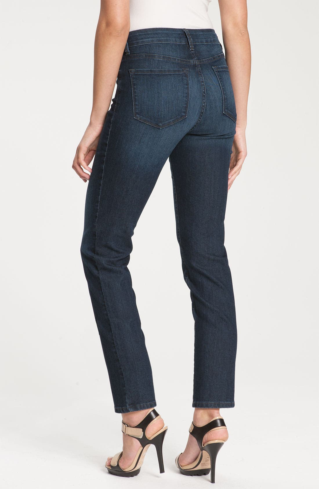 Alternate Image 2  - NYDJ 'Alisha' Skinny Stretch Ankle Jeans