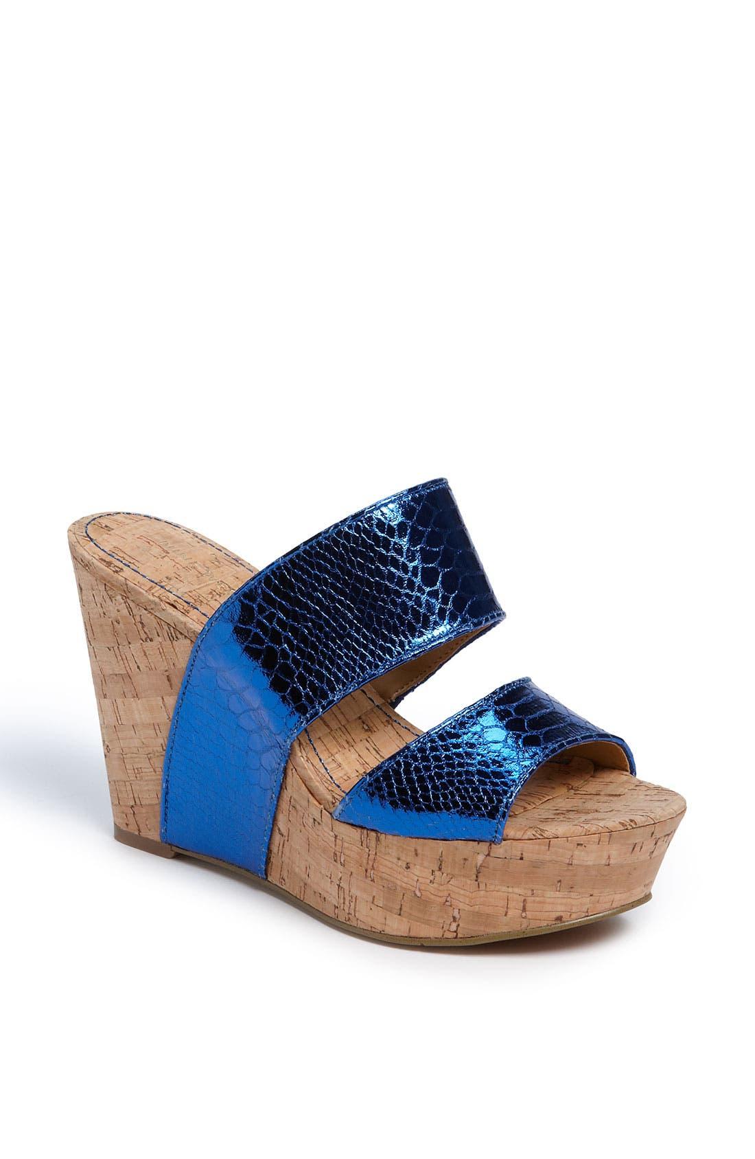 Alternate Image 1 Selected - Nine West 'Larysa' Wedge Sandal
