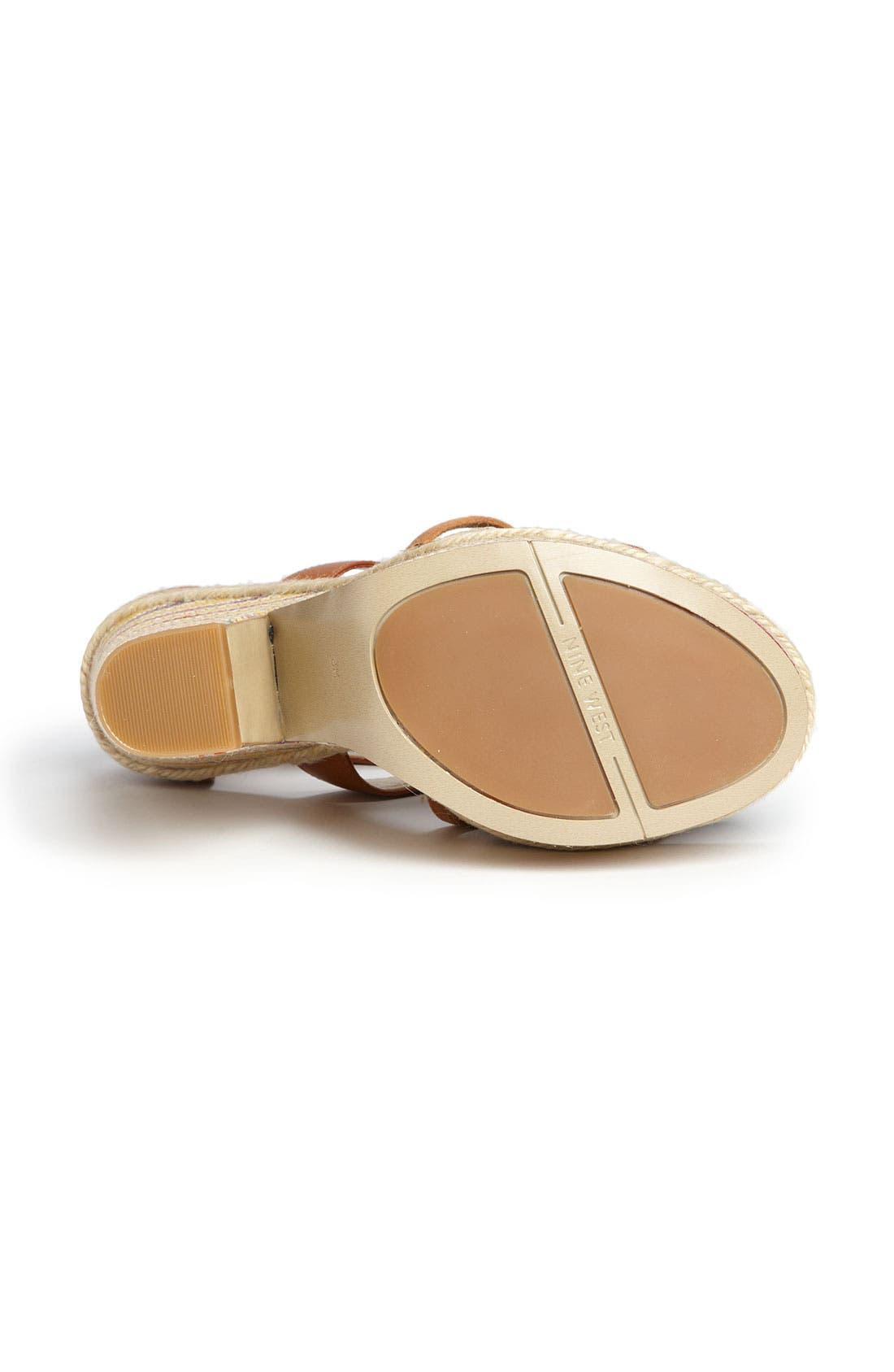 Alternate Image 4  - Nine West 'Treston' Sandal