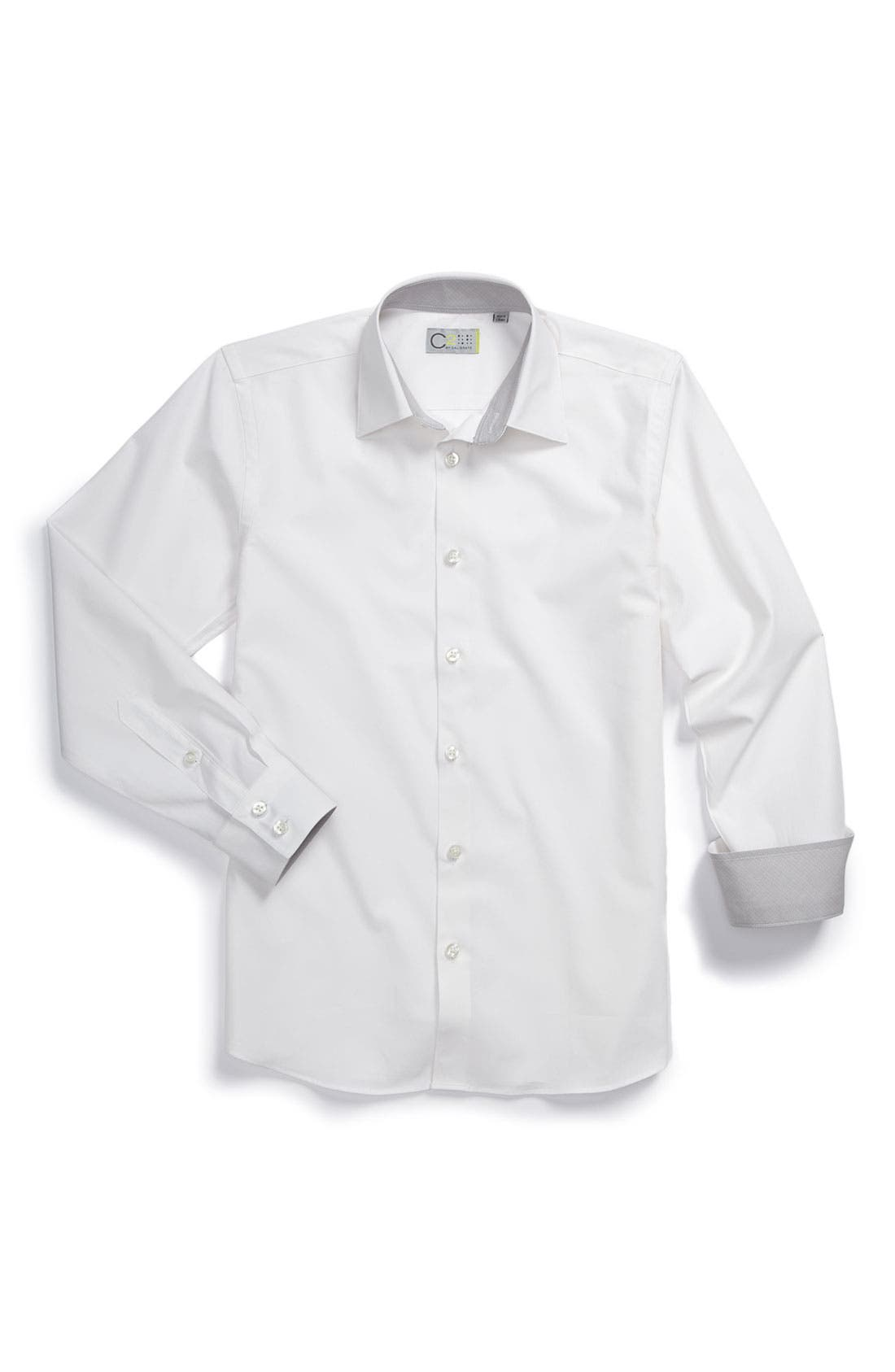 Alternate Image 1 Selected - C2 by Calibrate Dress Shirt (Big Boys)