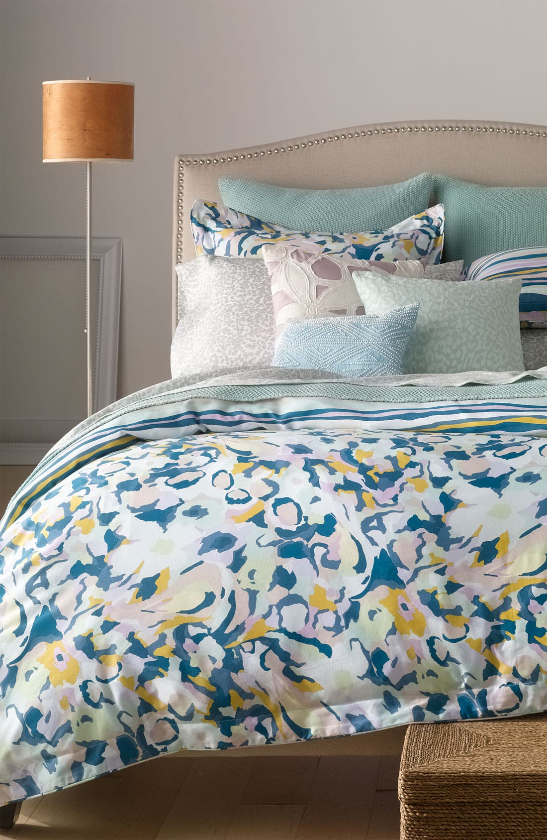 Alternate Image 4  - Diane von Furstenberg 'Batik Beaded' Pillow