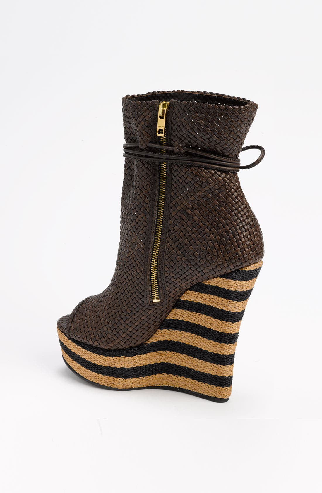 Alternate Image 2  - Burberry Peep Toe Boot