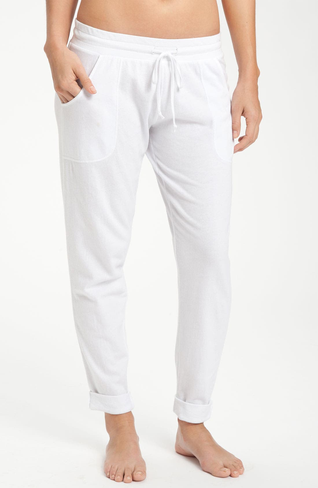 Alternate Image 1 Selected - Make + Model 'Close to You' Crop Pants