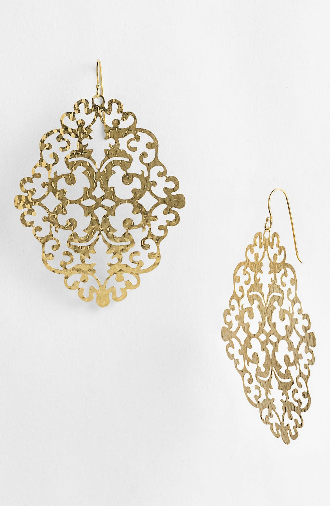 Main Image - Argento Vivo 'Artisanal Lace' Diamond Shape Earrings (Nordstrom Exclusive)
