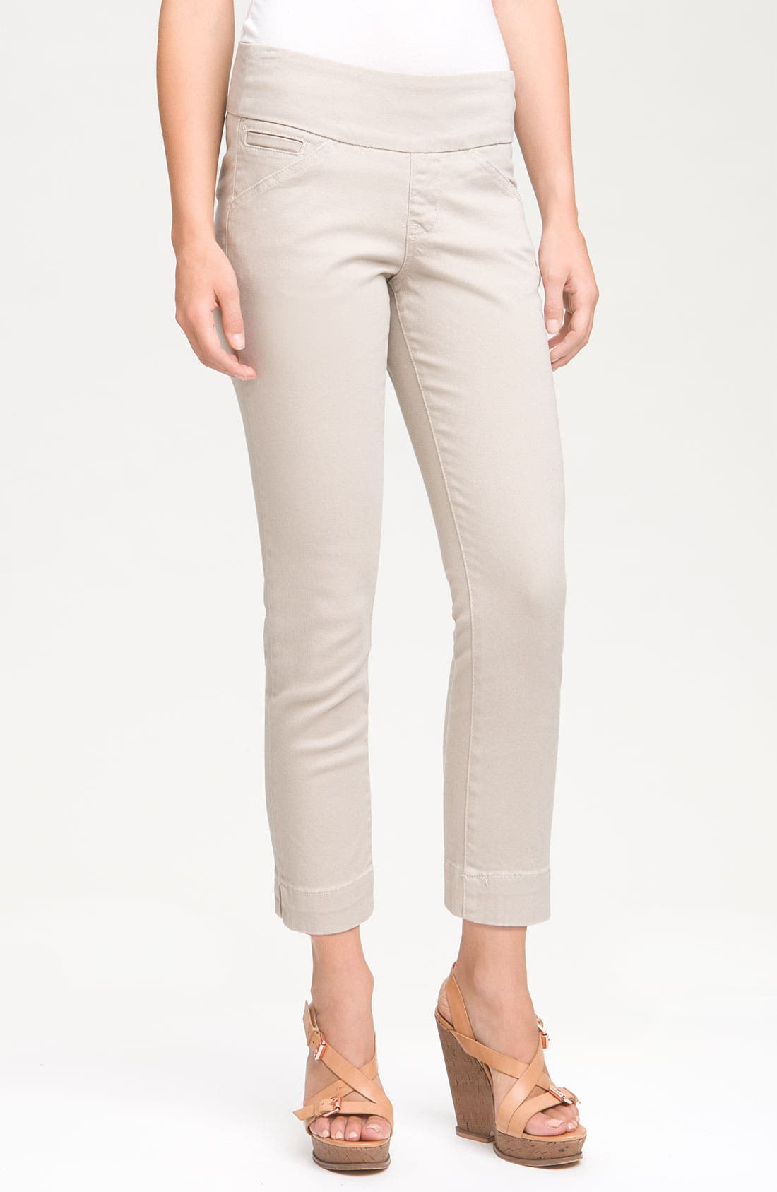 Alternate Image 1 Selected - Jag Jeans 'Attie' Slim Ankle Jeans (Petite)