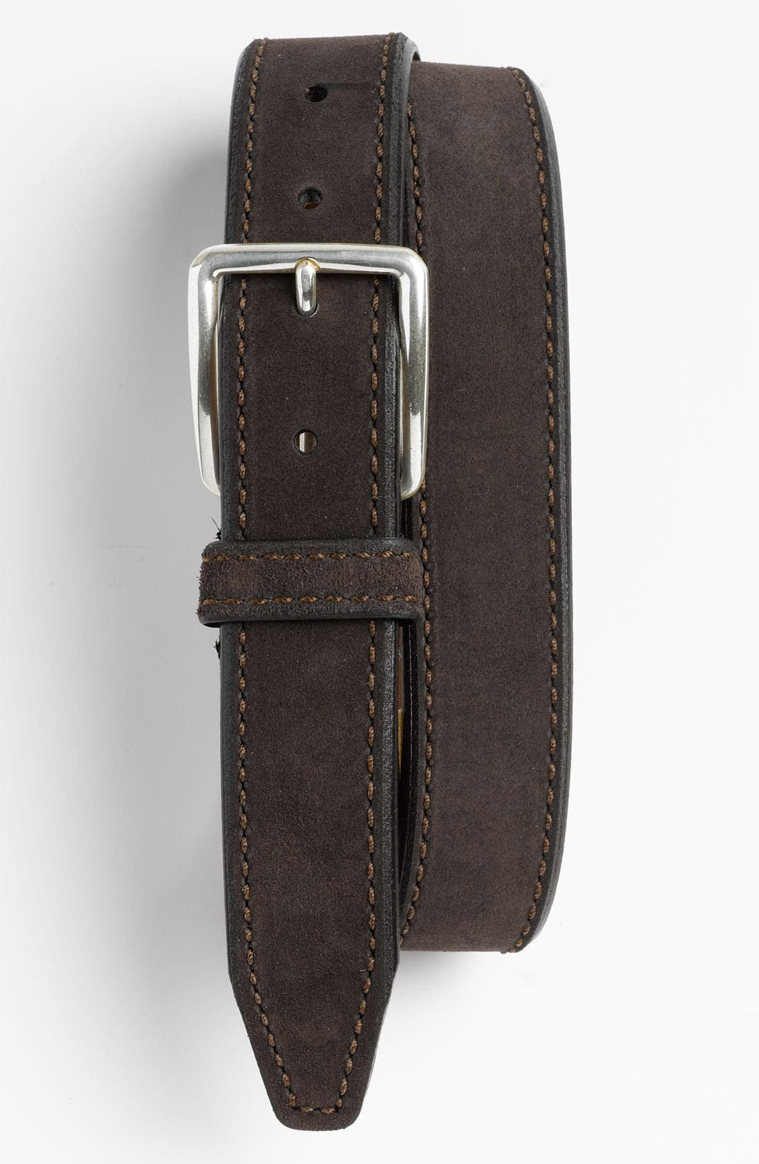 Main Image - Allen Edmonds 'Player's' Suede Belt