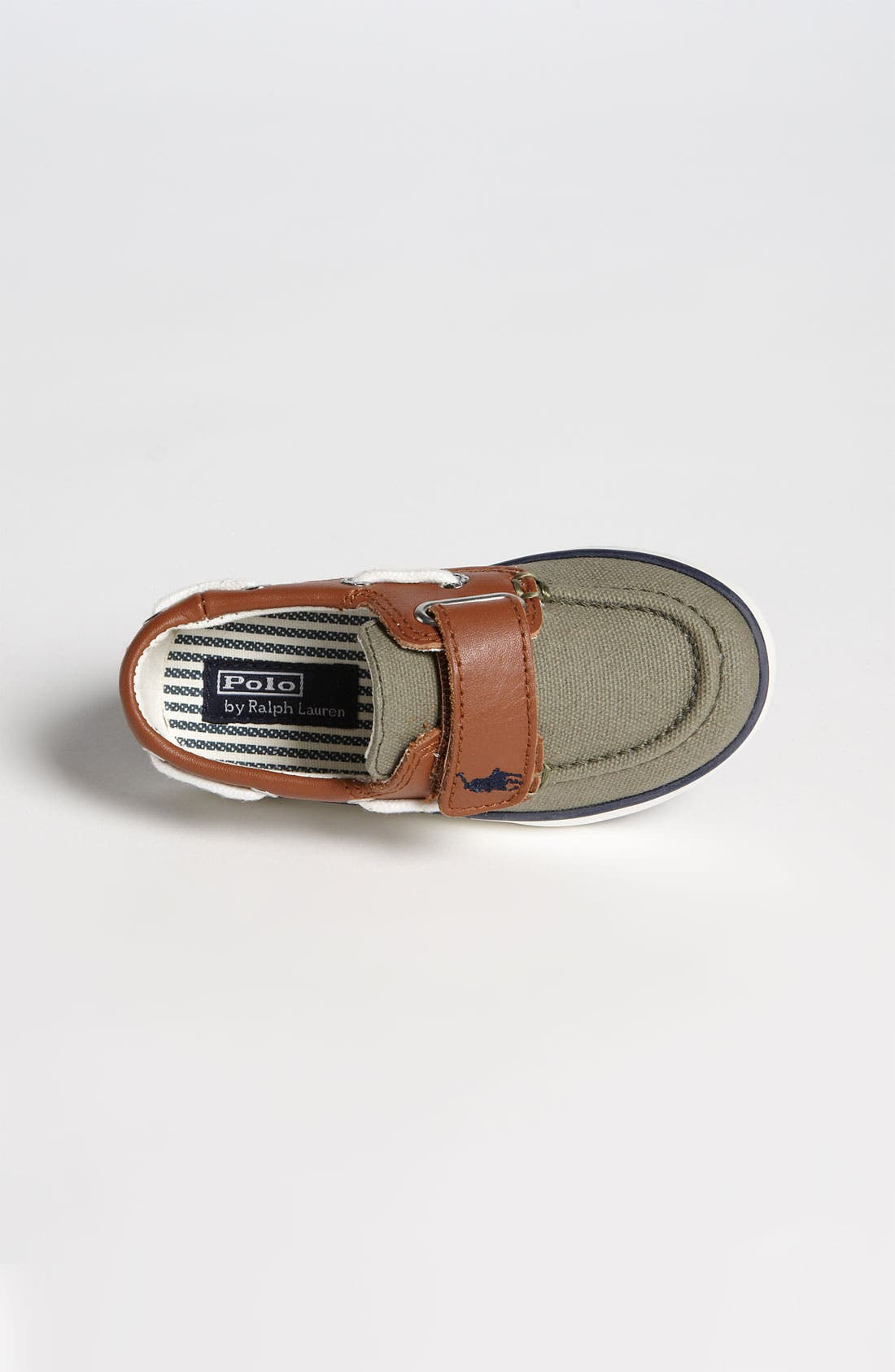 Alternate Image 3  - Ralph Lauren Kids Boat Shoe (Baby, Walker & Toddler)